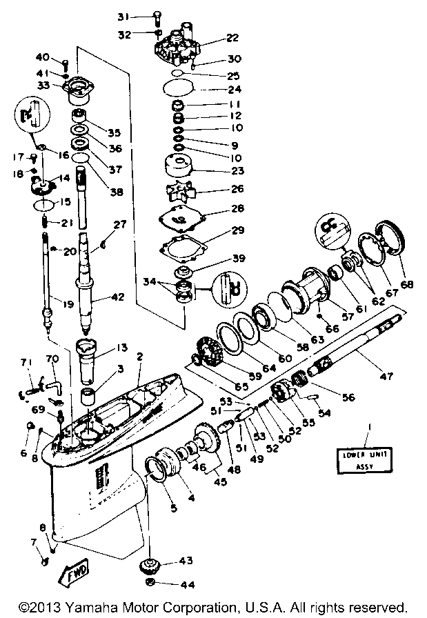 yamaha outboard cooling system diagram detailed schematics diagram Mercury 225 Ignition Switch Wiring Mercury 225 Ignition Switch Wiring