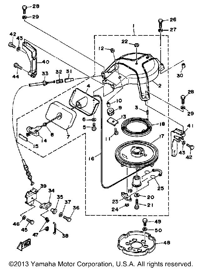 Yamaha Outboard 30 Hp 30sg Manual Starter