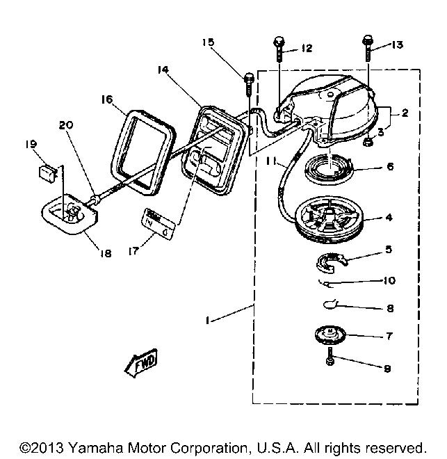 Yamaha Outboard Motor Parts Diagram