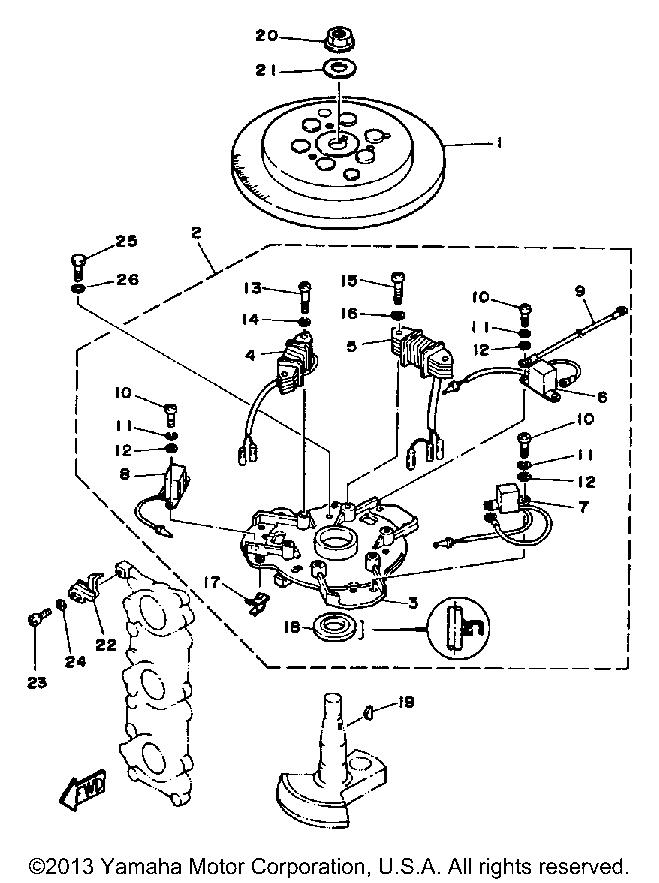 20 Hp Mercury Outboard Parts Cdi
