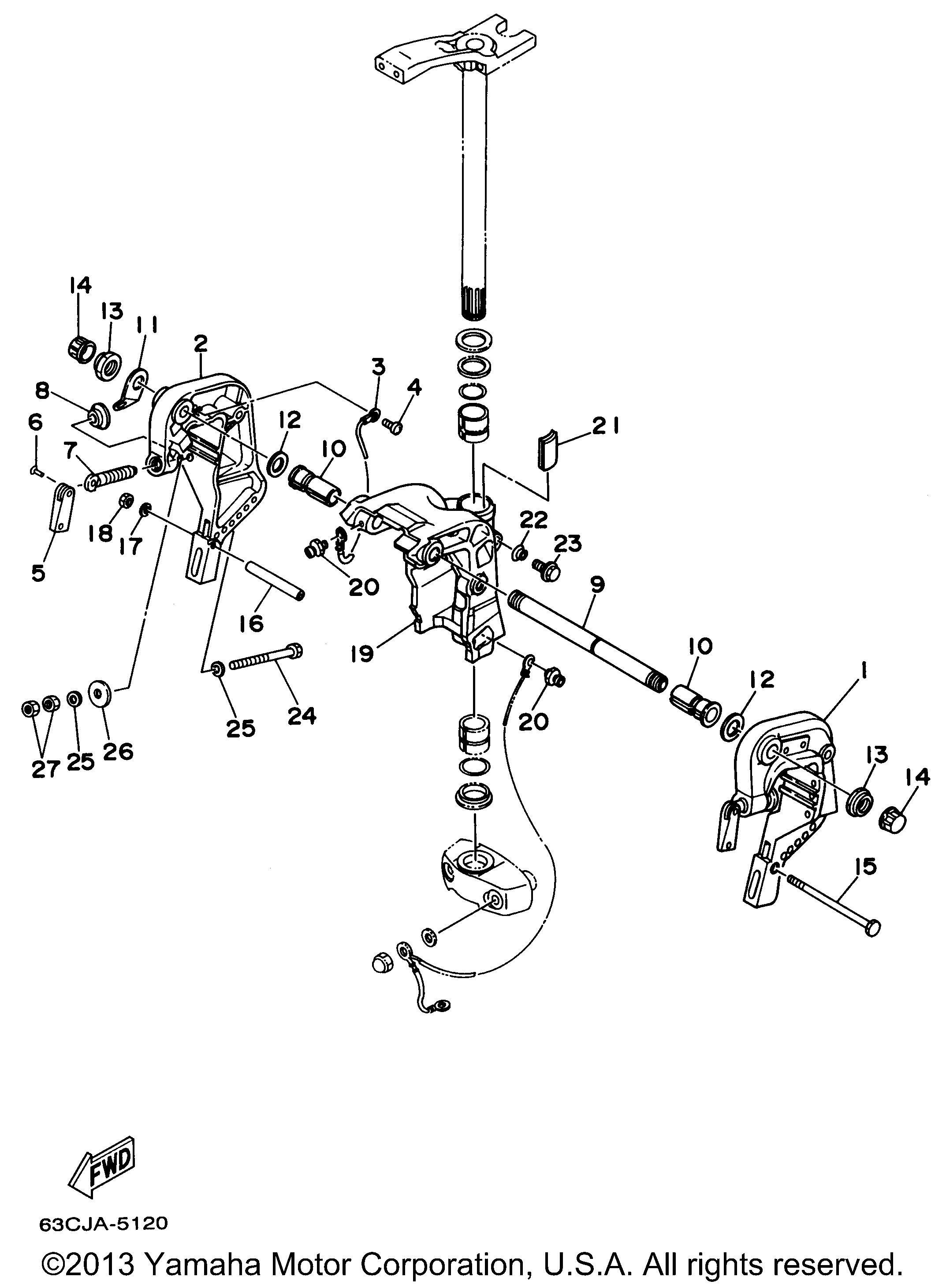 Johnson Remote Control Parts For 1988 90hp J90tlcca Manual Guide