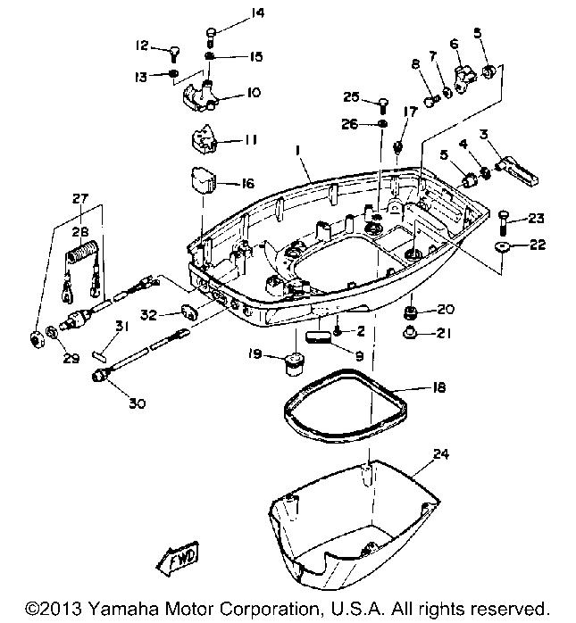 Yamaha 40 Hp Parts