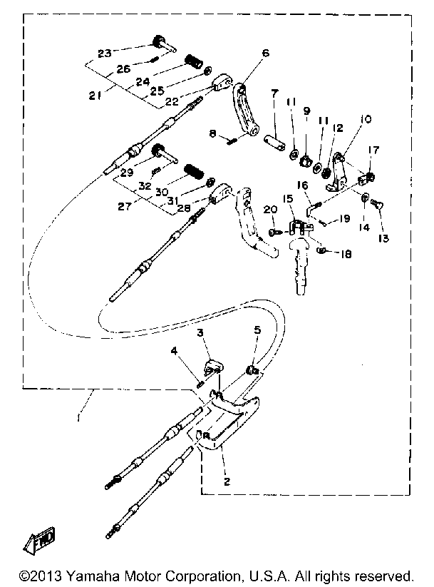1989 Yamaha Outboard Wiring Diagram