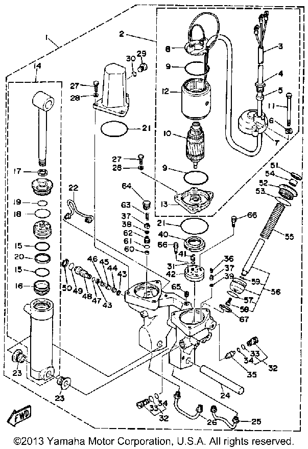 25 Hp Johnson Outboard Motor Wiring Diagram