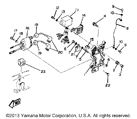 Wiring Diagrams For Yamaha Outboard Engines