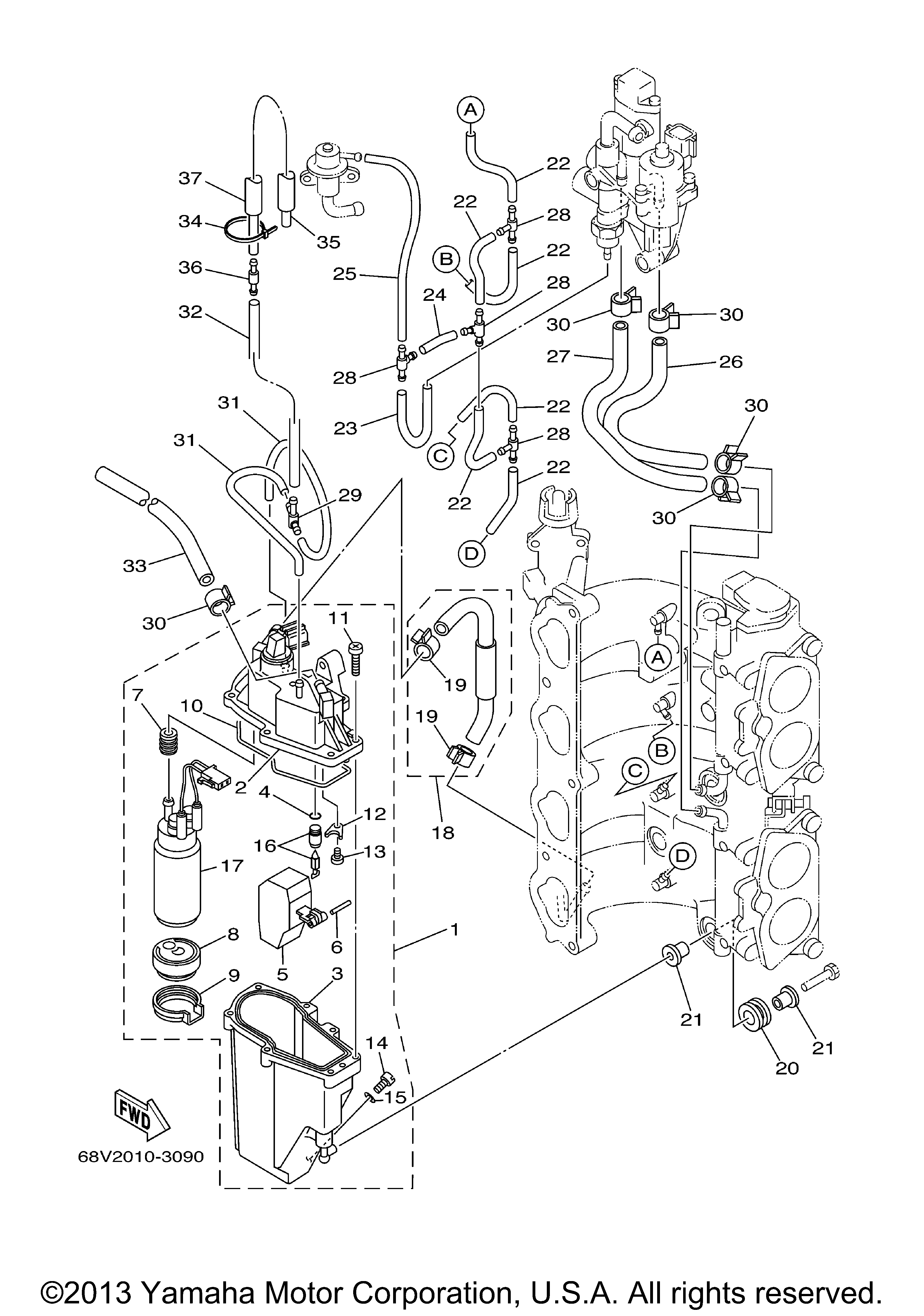 Yamaha F115 Injector Wiring Diagram - Block And Schematic Diagrams •