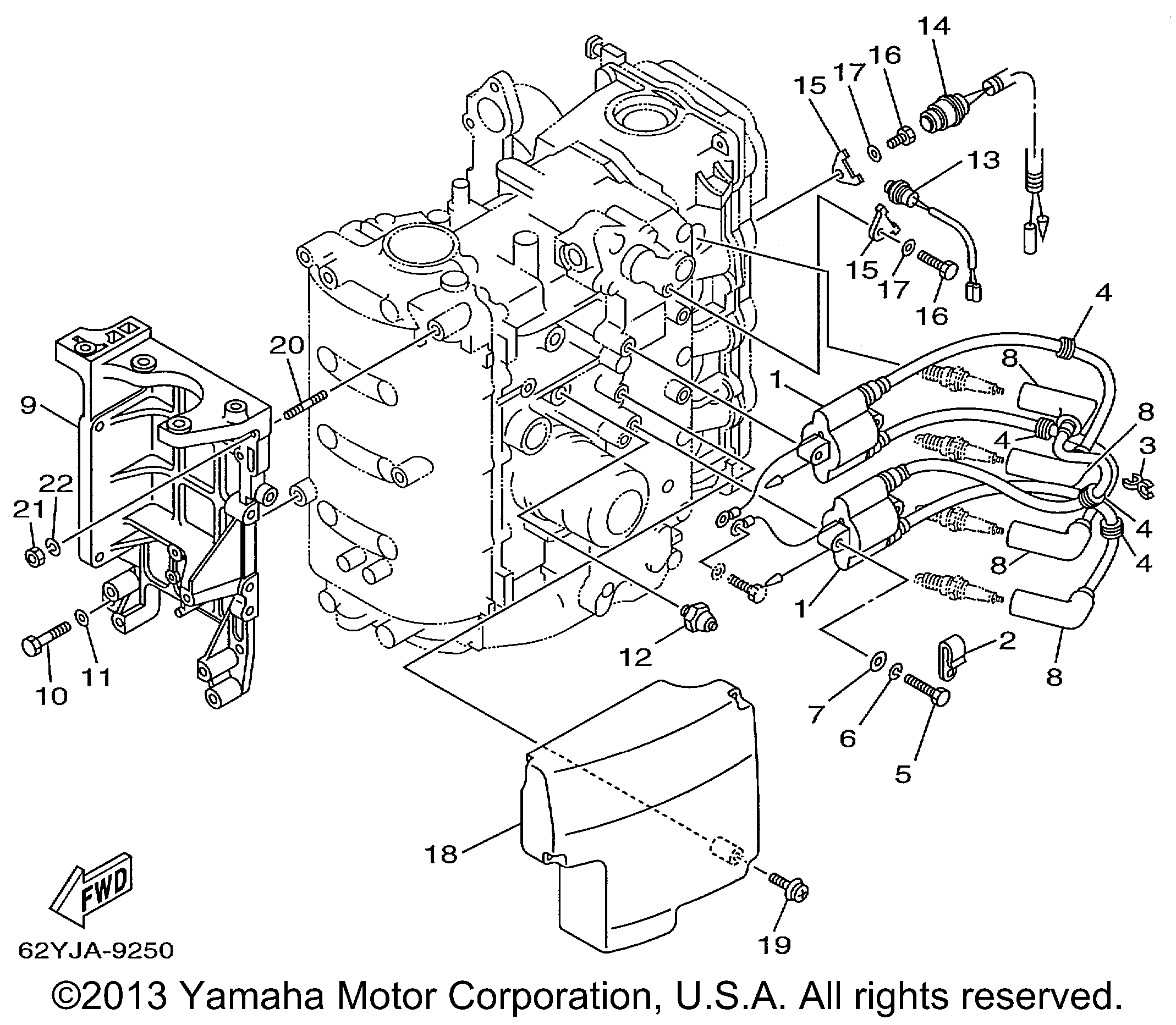 Yamaha | OUTBOARD | F40 F50 T50TRX | ELECTRICAL 1