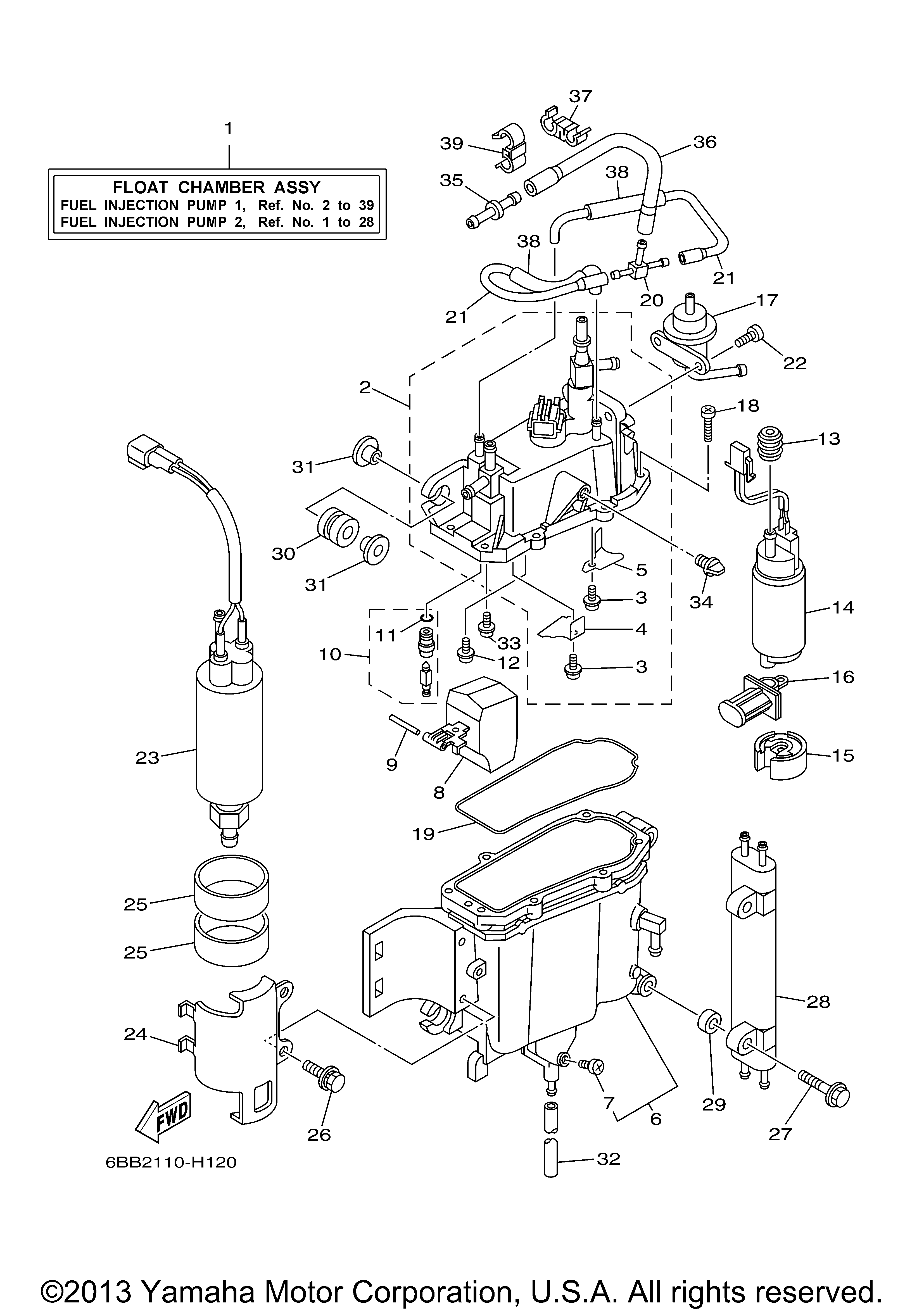 Yamaha F250 Outboard Wiring Diagram