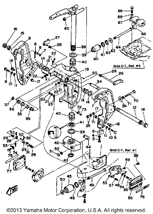 Yamaha Outboard Wiring Schematic