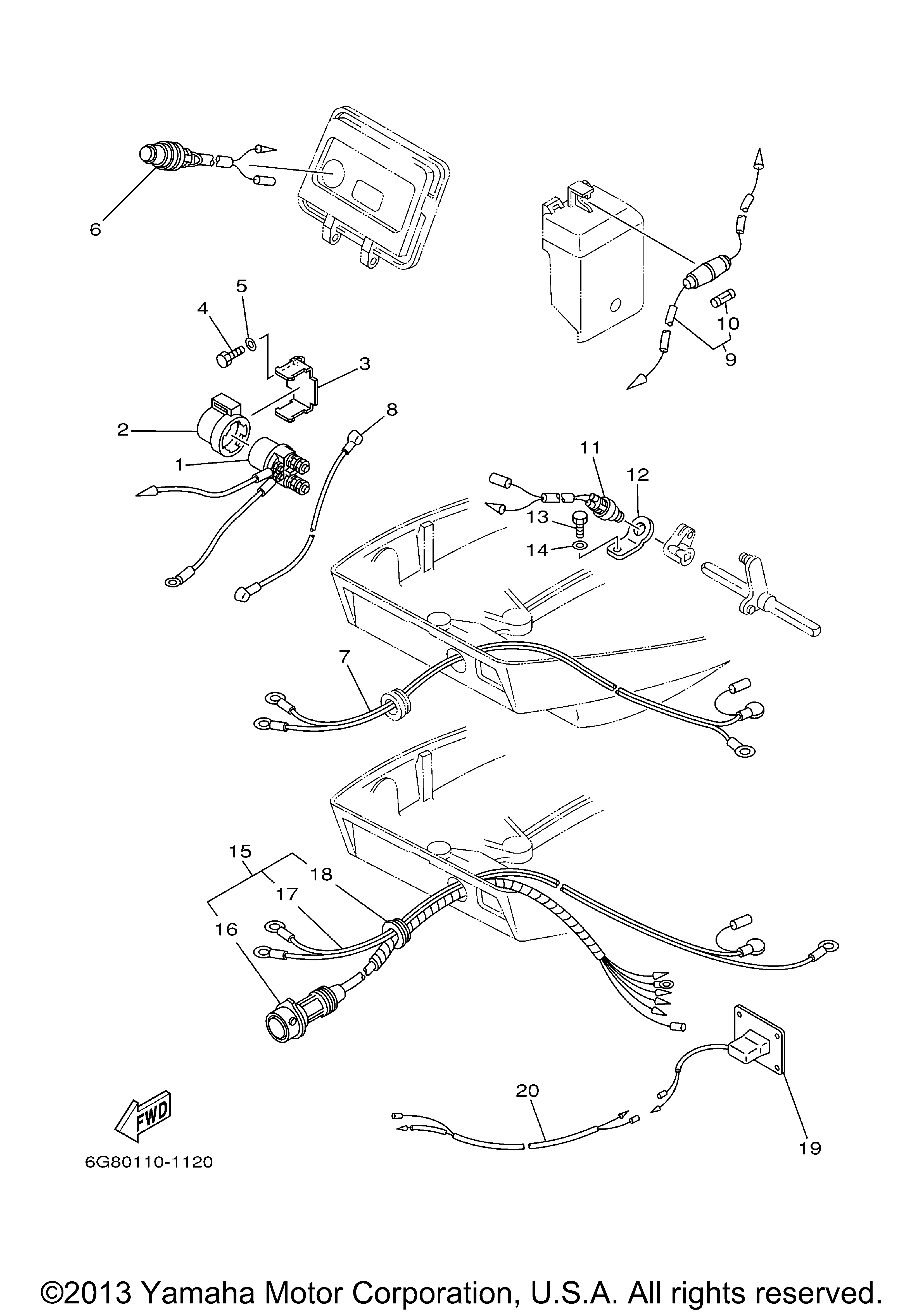 Trolling Motor Parts Diagram Also Trolling Motor Wiring Diagram
