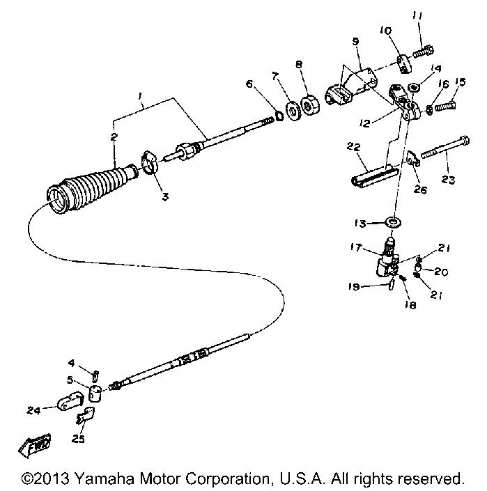 Yamaha   Yamaha   Yamaha   STERNDRIVE   INTER DRIVE 1990   CONTROL