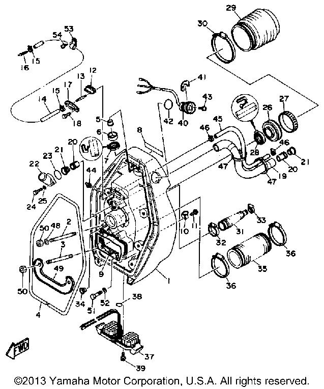 Yamaha Outdrives Diagrams