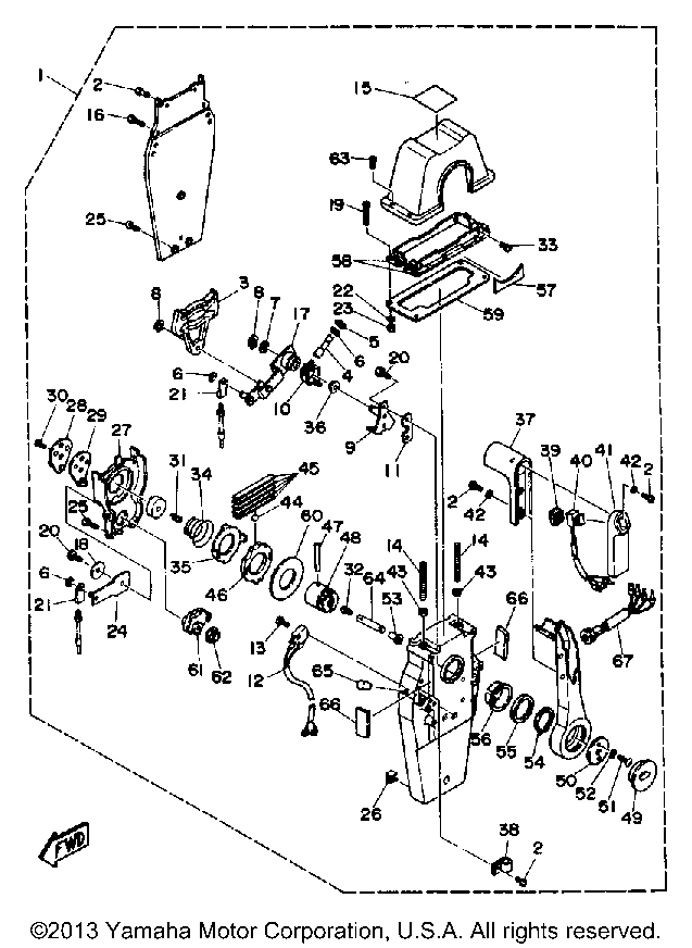 3 4l Yamaha V8 Engine Diagram
