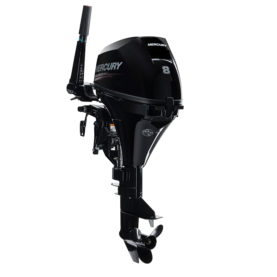Mercury 8MH Outboard Motor 8HP | Buy New Inline-2 8MH Mercury 8HP FourStroke Outboard Boat Motor - Van's Sport Center
