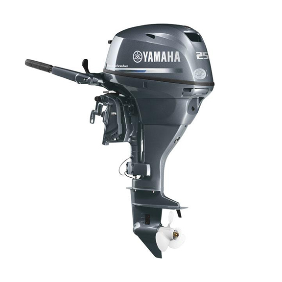 Van s sport center f25lwhc free shipping for Used yamaha outboard motor parts