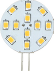 LED G4 BULB SIDE PIN CW 12SMD
