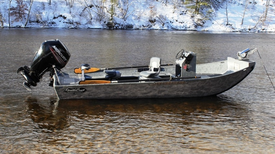 Van s sport center jet motors the right outboard for for Best river fishing boat
